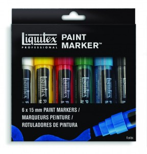 Liquitex - Paint Marker (6pc)