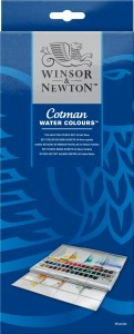 Winsor & Newton - Water Colours (45pc)