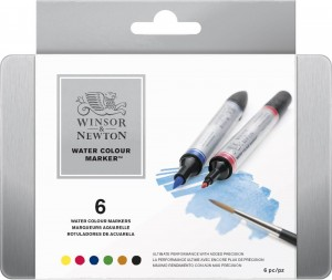 Winsor & Newton - Water Colour Marker Set