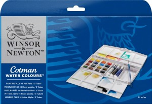 Winsor & Newton - Water Colours (19pc)