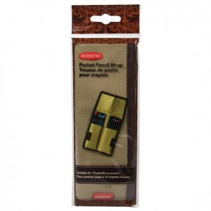 Derwent - Pocket Pencil Wrap (12 pc)