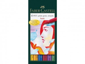 Faber-Castell - Brushstiften Basic (6pc)