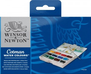 Winsor & Newton - Water Colours (14pc)