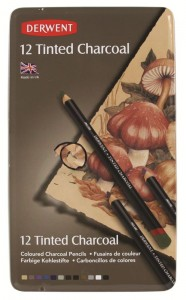Derwent - 12 Tinted Charcoal