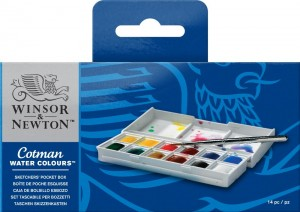 Winsor & Newton - Water Colours (12pc)