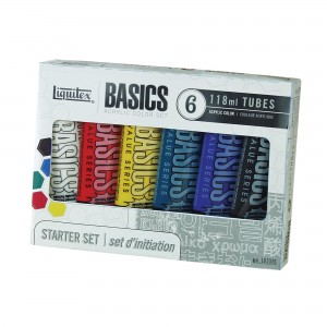 Liquitex - Basics (6 kleuren x 22 mL)