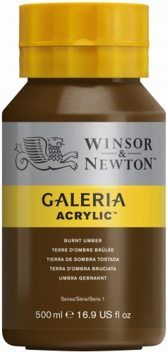 094376914405-W&N GALERIA POT 500ML BURNT UMBER.JPG
